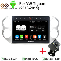 2GB/32GB 10.1 Inch Auto PC For Volkswagen VW Tiguan 2011 2012 2013 2014 Car DVD Player Octa Core Android 6.0 Car DVD Player