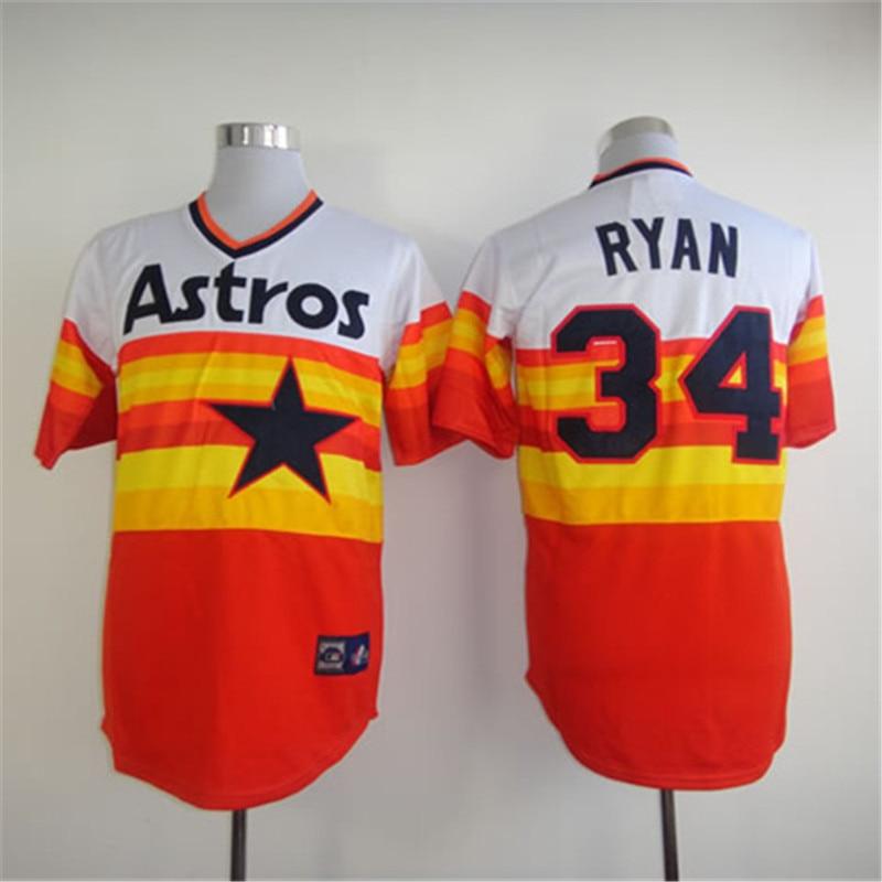 promo code 094aa dc7a3 2016 Houston Astros Jersey Retro 34 Nolan Ryan Jersey 1 ...