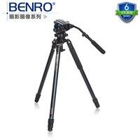 Benro A373TS6 S6 оригинальный штатив для SLR Камера Reflexum Профессиональный штатив из углеволокна штатив