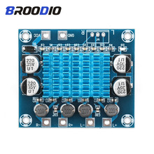 High HD Audio Amplifier MP3 amp Module DC8 26V Expand the soundboard Dual Channel 30W Class D Amplifiers Diy Board Amplificador-in MP3 Players & Amplifier Accessories from Consumer Electronics on AliExpress