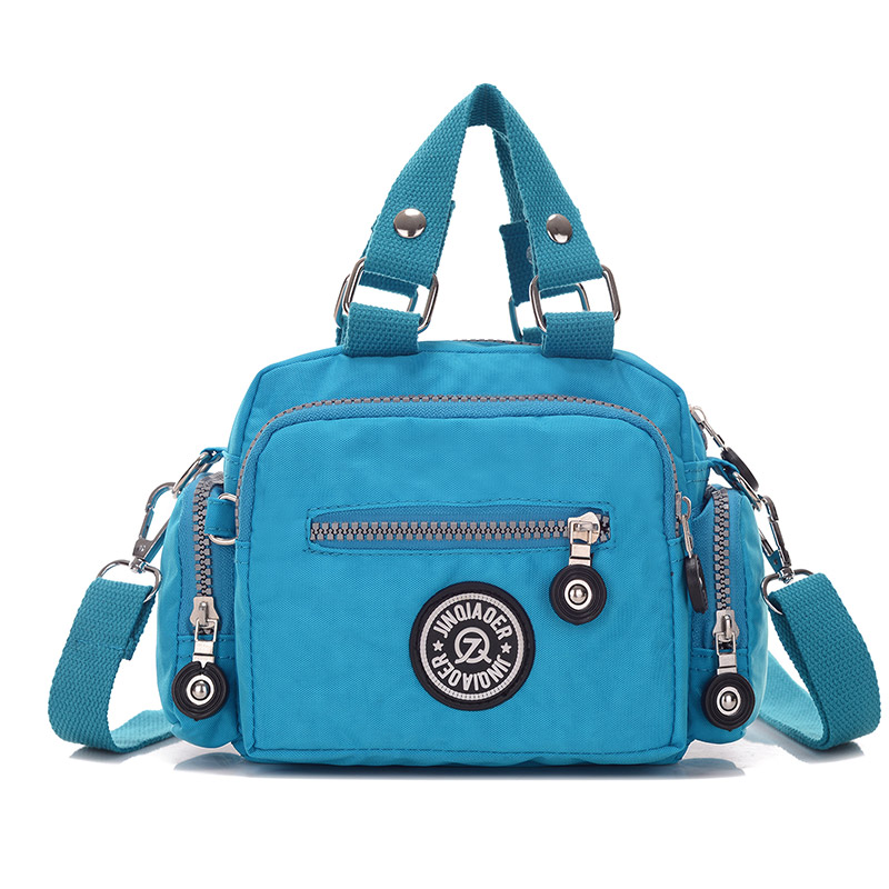 Vintage Women Shoulder Bag Handbags For Female Women Messenger Bag Casual Waterproof Nylon Totes Bag Portable Travel Bags Bolsas