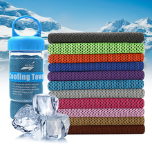 Microfiber Sport Towel Rapid Cooling Ice Face Towel Quick-Dry Beach Towels Summer Enduring Instant Chill Towels for Fitness Yoga