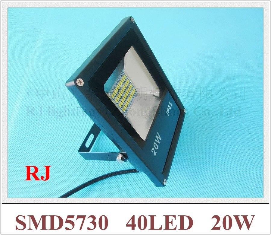 SMD 5730 LED flood light floodlight spot light lamp outdoor 20W 2000lm SMD5730 40LED (40*0.5W) AC85V-265V IP65 18cm*14cm*5cm
