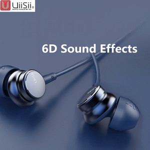 Image 1 - UiiSii HM7 HM9 In ear Headphones Super Bass Stereo Earphone with Microphone Metal 3.5mm for iPhone /Samsung Phone Go pro MP3