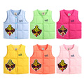 Baby Boy Girls Vests Jacket Kids Clothes Winter Children Clothing Waistcoats Cotton Warm Newborn Baby Clothes Outerwear Coat