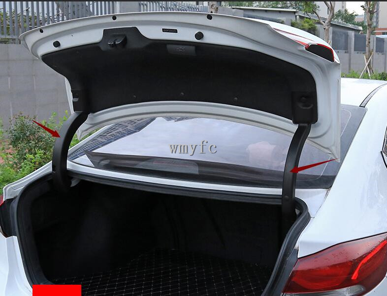For Hyundai Elantra  2017 2018  2019 Trunk Hydraulic Support Rod Protective Cover Tail Protective Sleeve 2pcs Auto Accessories