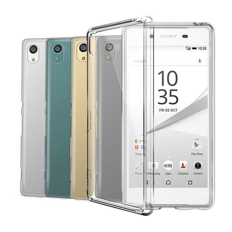 Transparent Silicon TPU Case For Sony Xperia Z1 Z2 Z3 Z5 Compact X XA XA1 XA2 Ultra XZ XZ1 XZS XZ2 XZ3 L1 L2 L3 1 10 Plus Cover