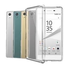 Funda de silicona TPU transparente para Sony Xperia Z1 Z2 Z3 Z5 Compact X XA XA1 XA2 Ultra XZ XZ1 XZS XZ2 XZ3 L1 L2 L3 1 10 Plus