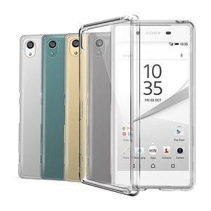 Image 1 - Transparent Silicon TPU Case For Sony Xperia Z1 Z2 Z3 Z5 Compact X XA XA1 XA2 Ultra XZ XZ1 XZS XZ2 XZ3 L1 L2 L3 1 10 Plus Cover