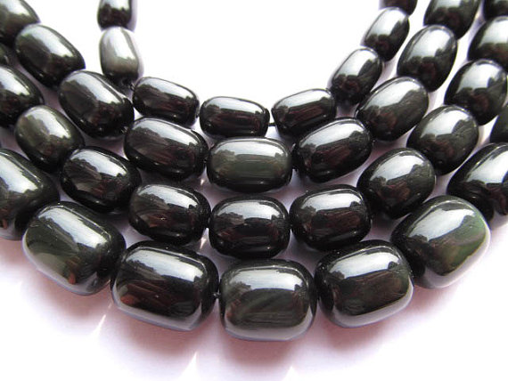 high quality LOT genuine rainbow obsidian barrel rice jewelry beads 8x10mm---5strands16/perhigh quality LOT genuine rainbow obsidian barrel rice jewelry beads 8x10mm---5strands16/per