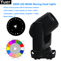 Super Bright 100W LED Spot Moving Head Light 100 Watt LED gobo moving heads for dj disco home family party club show stage light
