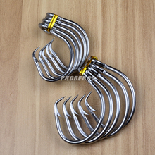 20pc Saltwater Fishing Hook DWH105 Circle Hook 11/0#-16/0# Model stainless steel Fishhook Made in Taiwan