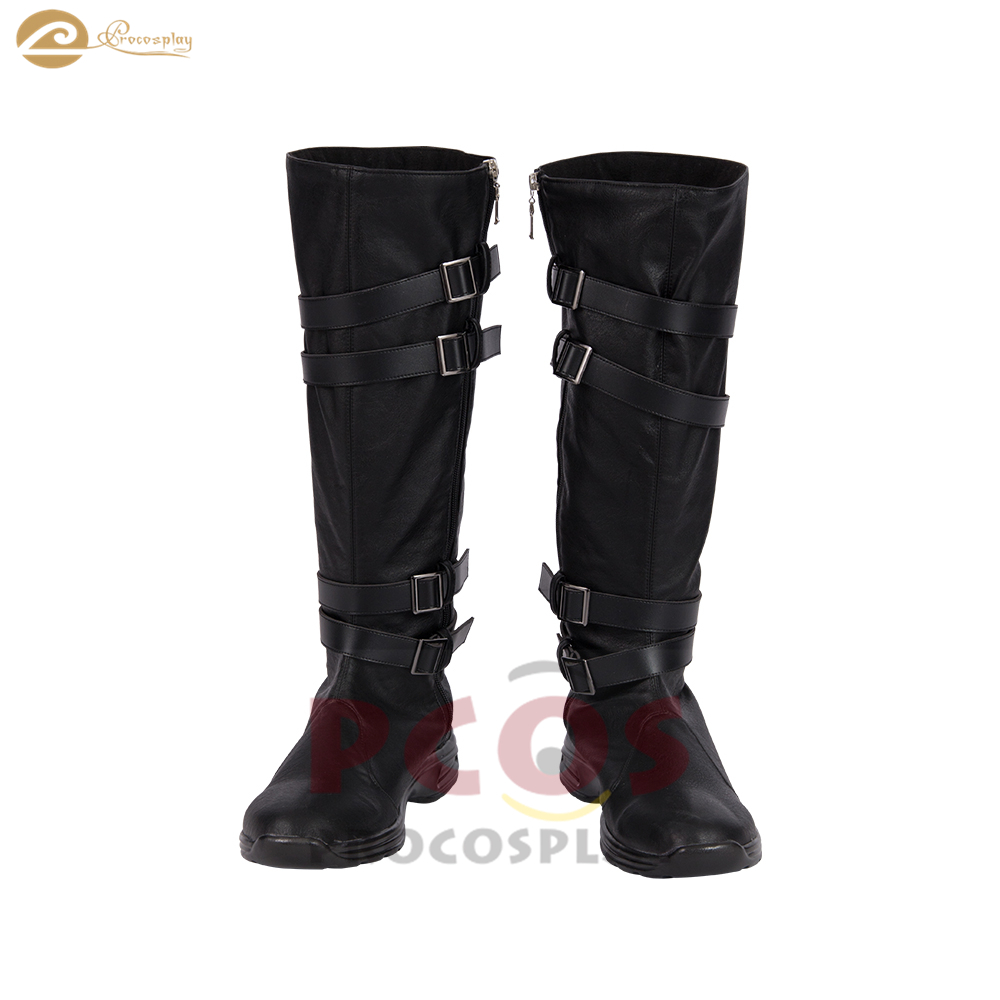 Star Wars:The Force Awakens Kylo Ren Cosplay Boots Black Shoes Cosplay Accessory