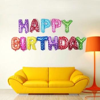 Balon urodzinowy Napis