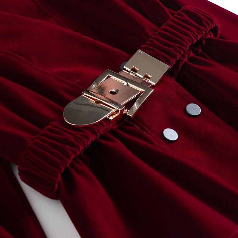 Femmes Printemps Red Dames Et Deux Bureau Vêtements Les Pour Pantalons De Élégantes Streetwear Pièce Ensemble Tenue Tcyeek Pièces Haut Lwl1635 Wine Tenues black Automne 2 PZxqgnXT