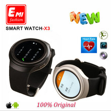 2016 Free Shipping Smart Watch 3G X3 D5 K9 with Android 4 4 WCDMA WiFi GPS