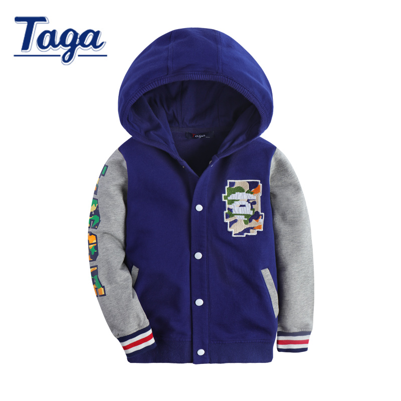 New TAGA Autumn Spring 100% Cotton Kids T Shirt cartoon Long Sleeve Baby Boys Girls hoodies Children Pullovers Tee Boys Clothes 2 10 years boys girls clothes minions boys t shirts spring autumn children hoodies cartoon kids clothes casual boys t shirt hot