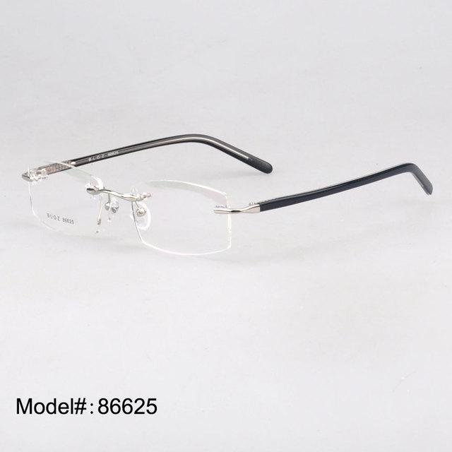 86625 eyewear óptico de hombre Sin Montura gafas de miopía hipermetropía gafas gafas graduadas
