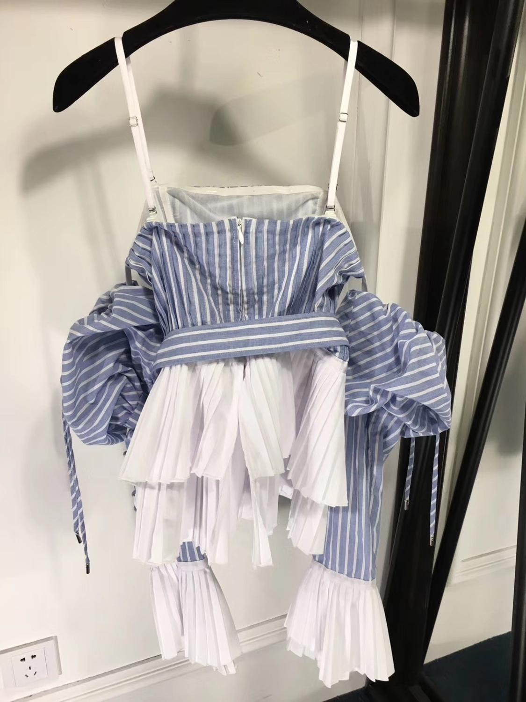 Tops Neue Fomolayime Camis 2019 Patchwork Sexy Frauen Sommer Frühling Mode Gestreiften 1fppxw5qP