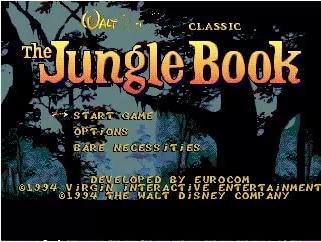 The Jungle Book - 16 bit MD Games Cartridge For MegaDrive Genesis console