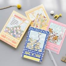 30 шт./упак. милый питомец торговый автомат открытка Закладки Письмо бумаги открытка на день рождения Бизнес Подарочные карты набор карт сообщение