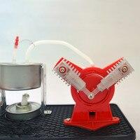 스털링 엔진 어린이 증기 엔진 실험 과학 실험 조립 장난감 물리학 교육 학습 교육|물리학|   -