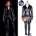 2017 The Avengers Iron Man Natalia Alianovna Romanova adult women black widow cosplay costume Halloween costumes custom made