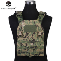 Emersongear Molle Tactical Vest APC MultiCam Load Bearing Vest Back Panel Airsoft Paintball Military Army Hunting Vest EM7328