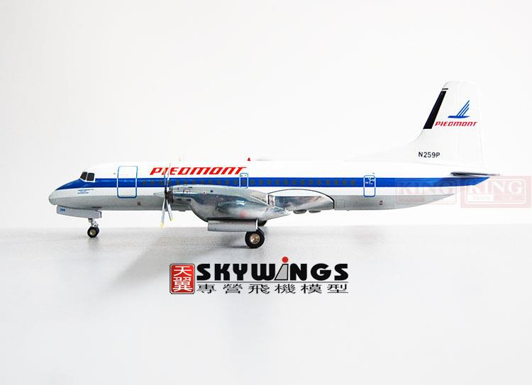 GeminiJets United States G2PDM129 PieiTe Monte aviation N259P 1:200 YS-11 commercial jetliners plane model hobby купить