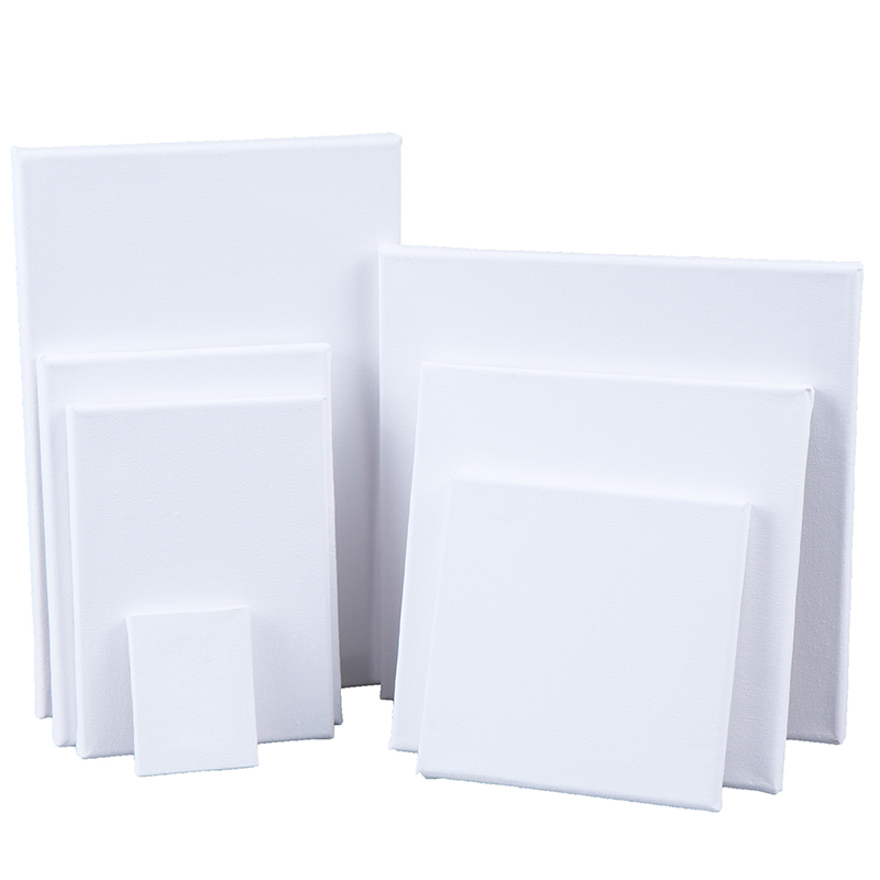 1PCS Mini Stretched Artists Canvas Small Art Board Acrylic/Oil Paint Blank Mini Canvas Drawing Toys Supply