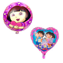 Dora the Explorer Balloons aluminum Diago Balloon foil Boots ballon children's birthday party Gift Decoration classic toys(China)