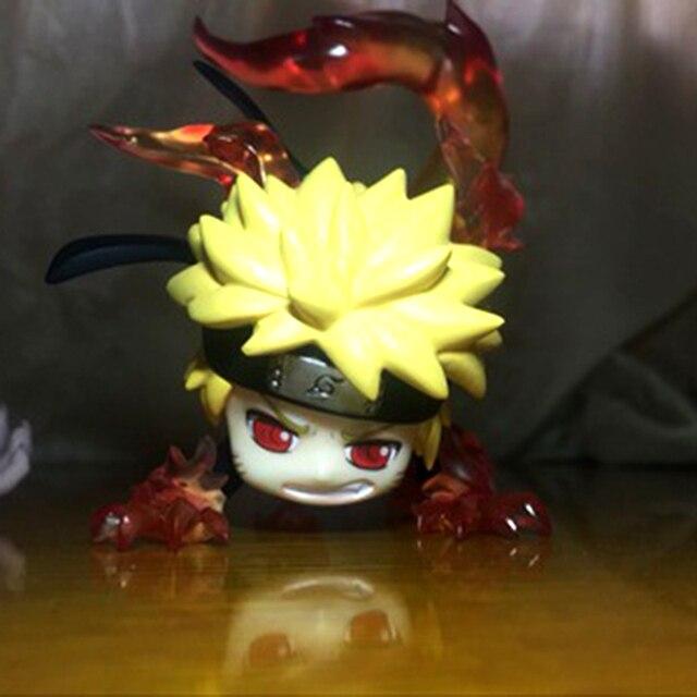 "8cm Mini Anime Naruto Action Figure toys 3"" Q Version Cute Naruto Sasuke Gaara PVC Figures Model Collection Gifts WX256"