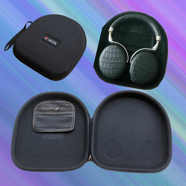 3a23329f6b0 V-MOTA PXA headphone Carry case boxs For Parrot Zik 2.0 and Audio Technica  ATH-WS550 ATH-WS99 ATH-WS50 ATH-WS55X WS77 headphone