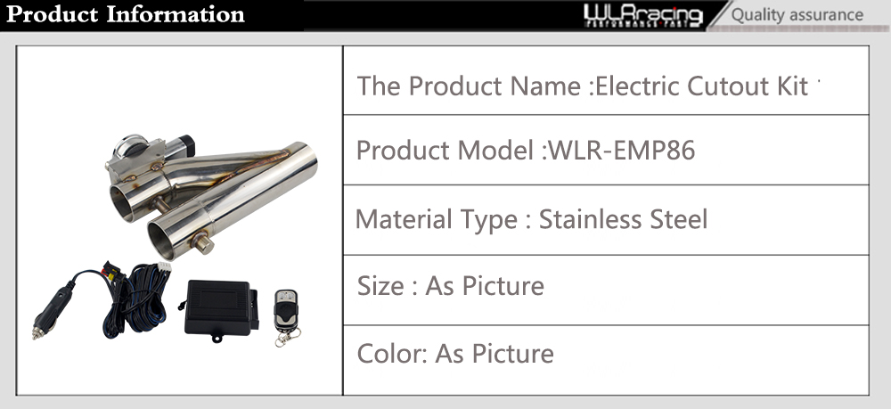 WLR-Aço Inoxidável Universal 304 2.5