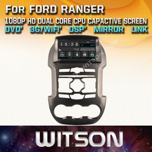 WITSON CAR DVD PLAYER GPS for FORD RANGER car stereo Capacitive Touch Screen DSP Audio Mirror Link Function FM/AM Tuner /RDS