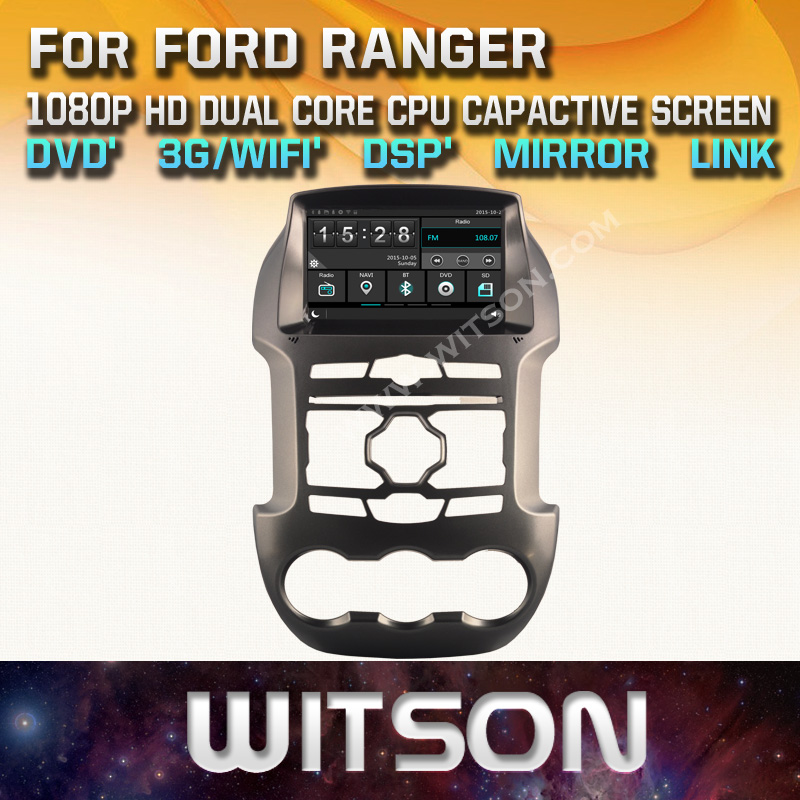 WITSON font b CAR b font DVD PLAYER GPS for FORD RANGER font b car b