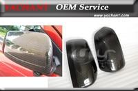 Car Styling Carbon Fiber Mirror Cover Caps 2Pcs Fit For 2008 2012 Mitsubishi Lancer Evolution EVO10 EVO X Mirror Cover