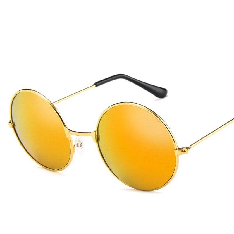 Moda Rodada Do Vintage óculos de Sol Para As Mulheres Homens Marca Designer  Espelhado Óculos Retro Feminino Masculino Óculos de Sol das Mulheres Dos  Homens ... bac0851f64