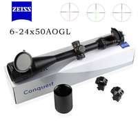 NEW ZEISS 6 24X50 AOMC Optical Sight Riflescope military use Outdoor Hunting Scope Air Rifle Sniper rifle gun Accessories