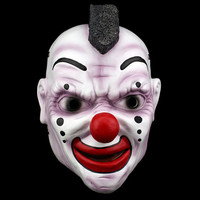 High Quality Slipknot Mask Clown Funny Devil Head Scary Halloween Mask Cosplay Prank Resin Home Decor