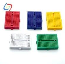 50 stücke SYB 170 5 Farben Mini Steckbrett Prototyp Experiment Test Protoboard 170 Tie Punkte Für Arduino Schild