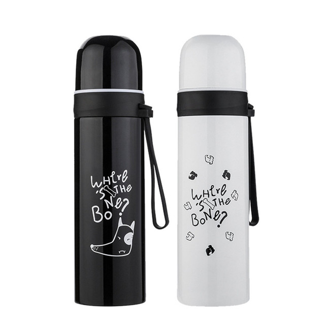 0d3130ebc14 500ml 2019 New PPortable Stainless Steel Vacuum Flask Thermos Coffee Cup  Travel Water Bottle sep30