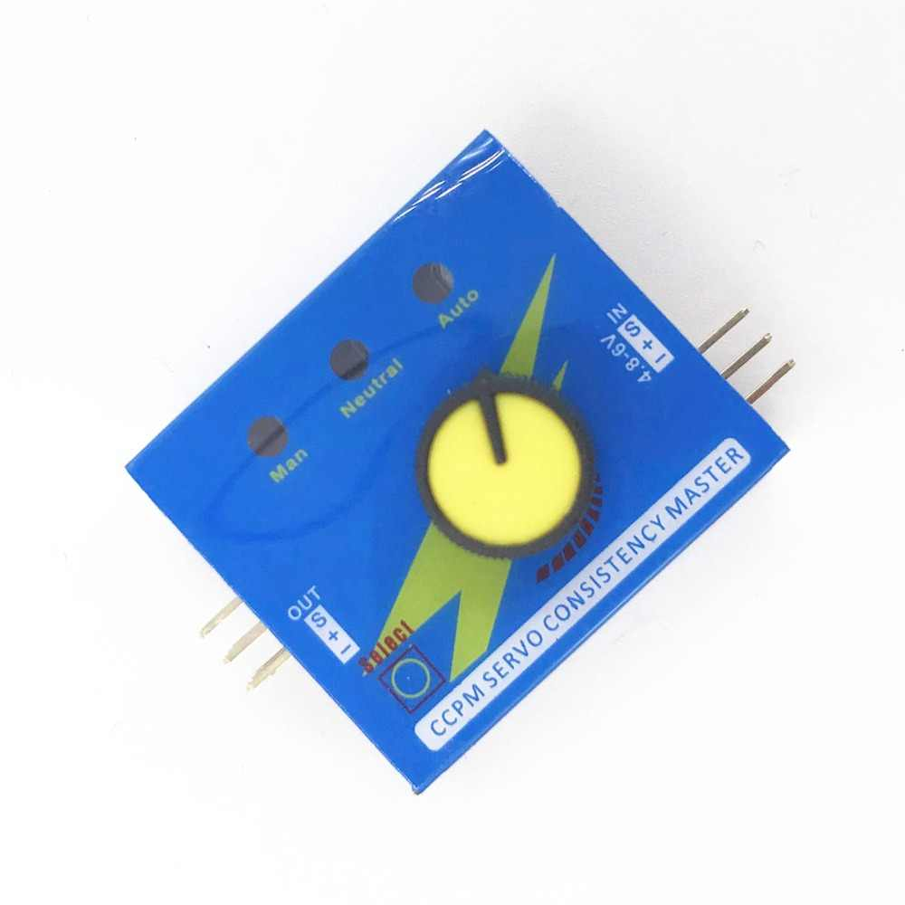 Multi Servo Tester 3CH ECS Consistentie Speed Controler Power Kanaals CCPM Meter Checker Master RC Dron Helicopter Onderdelen RC Hobby