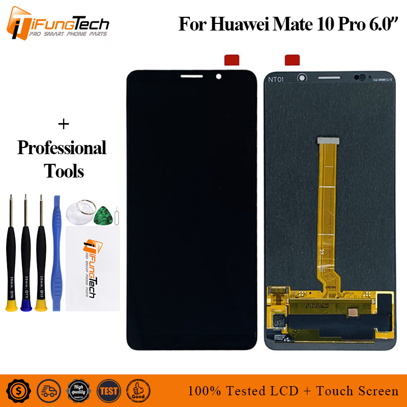 Original For Huawei mate 10 Pro 6.0 inch 2160*1080 LCD display Touch Screen Digitizer Sensor Assembly