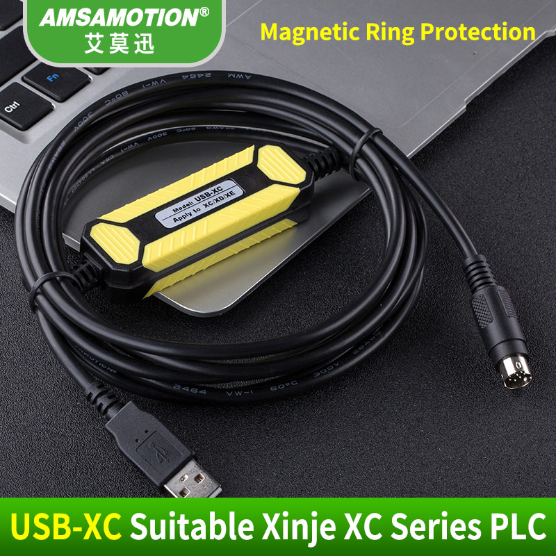 Promotion!!! USB-XC Suitable Xinje XC1 XC2 XC3 XC5 PLC Programming Cable USB Communication Cable Support WIN7 Free shipping
