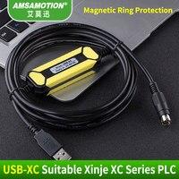 Förderung!!! USB-XC Geeignet Xinje XC1 XC2 XC3 XC5 Sps-programmierung Kabel USB Kommunikation Kabel Unterstützung WIN7 Kostenloser versand