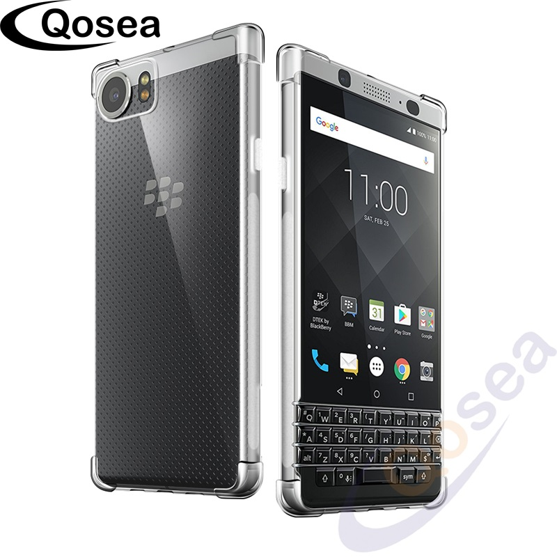 qosea for coque blackberry keyone dtek70 case ultra silicone transparent slim soft tpu. Black Bedroom Furniture Sets. Home Design Ideas