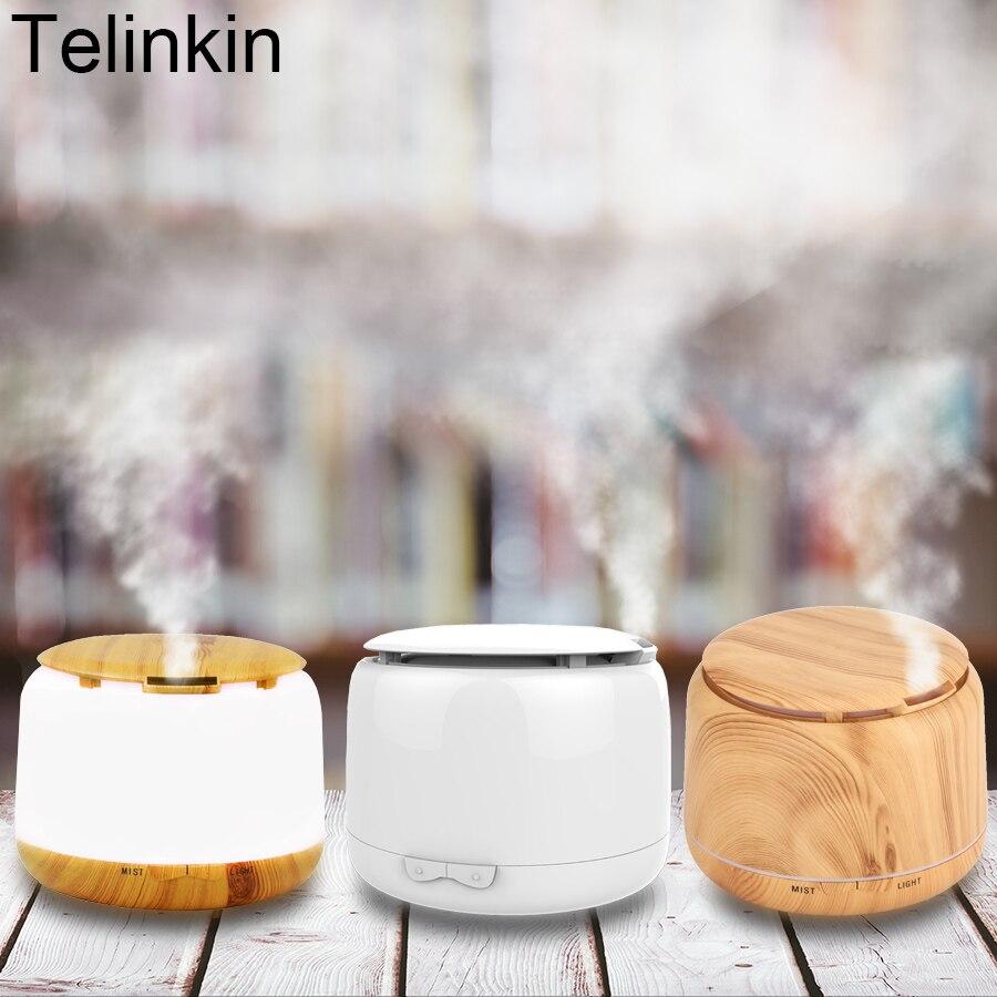 TELINKIN 250 ml Aroma Ätherisches Öl diffusor Ultraschall-luftbefeuchter Elektrische Aroma Diffusor mit 7 Farbe led-leuchten für office home