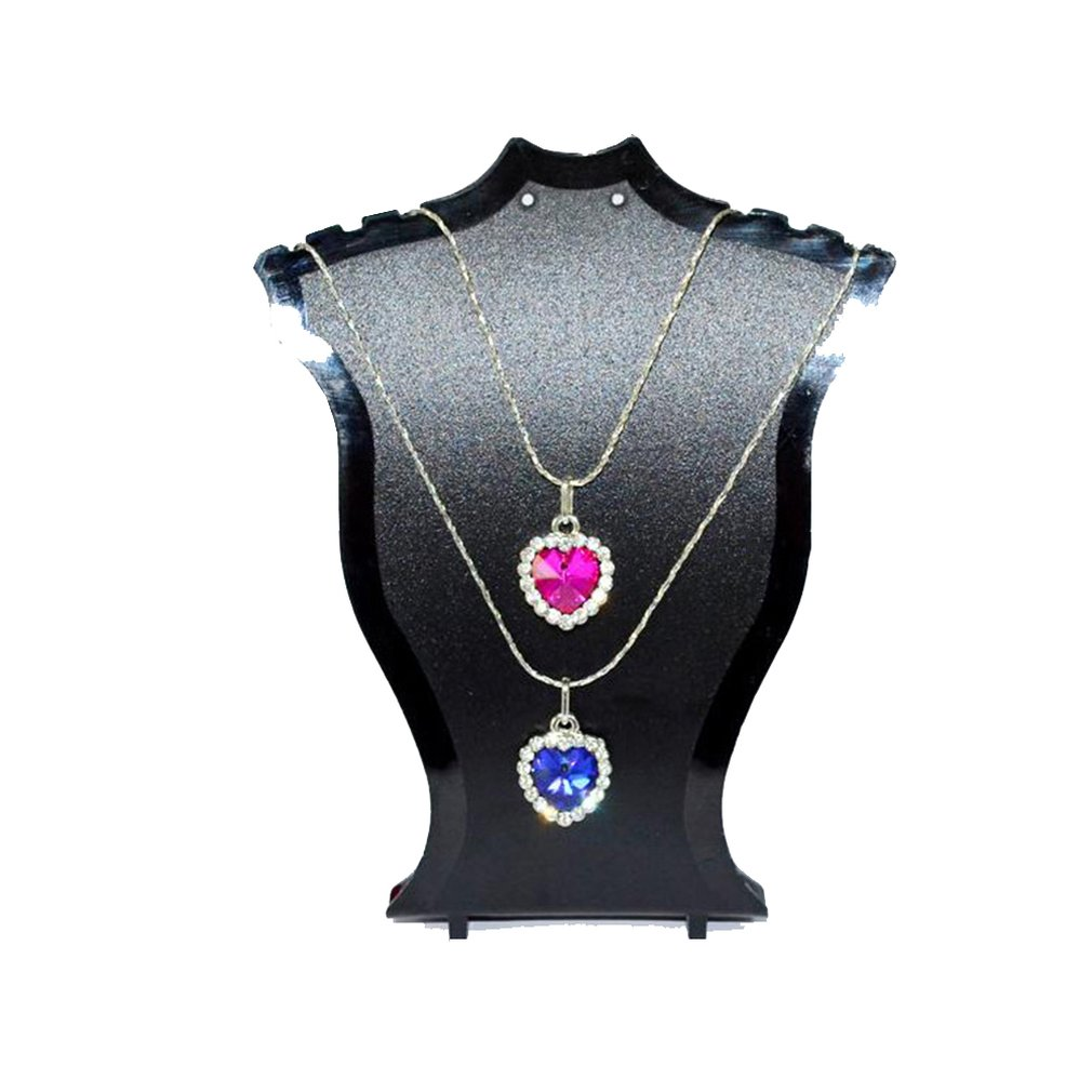Plastic Fan-shaped Necklace Stand Earring Stand Bracelet Necklace Jewelry Display Stand Creative Jewelry Stand