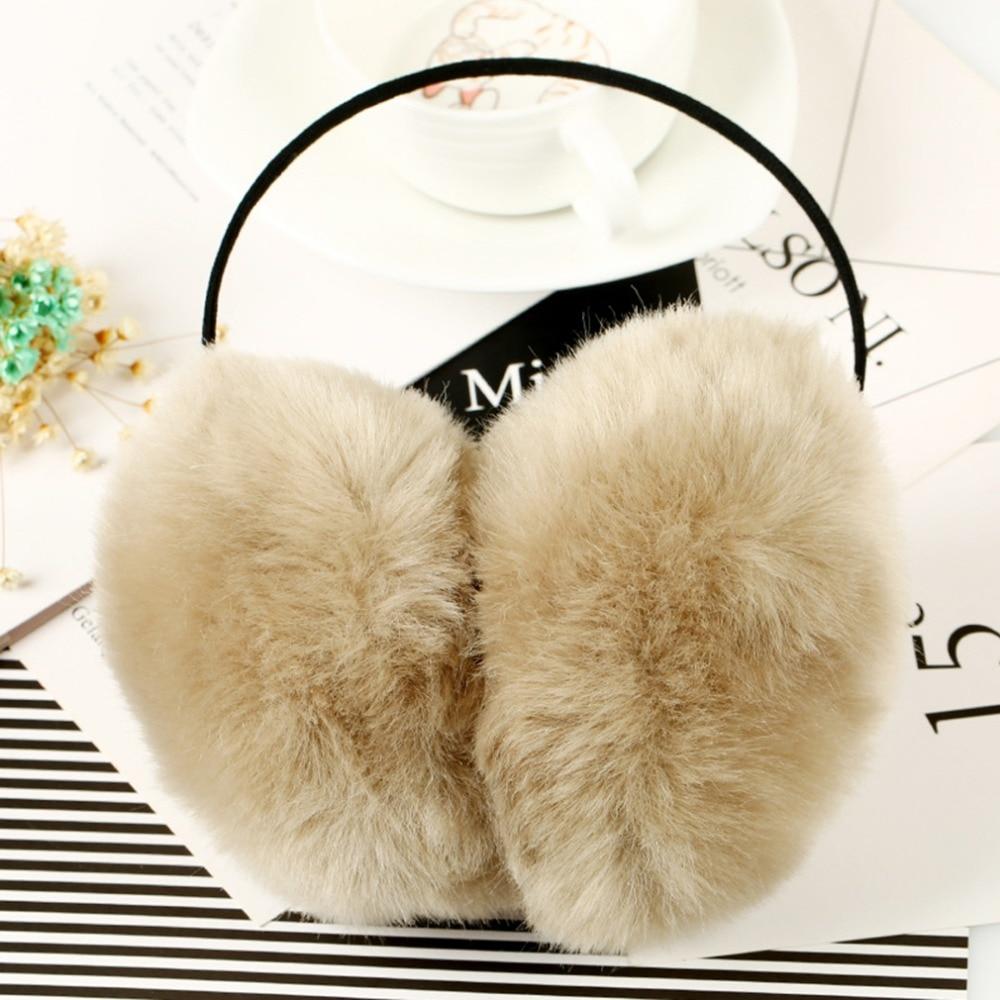 2016 Women Faux Rabbit Fur Earms